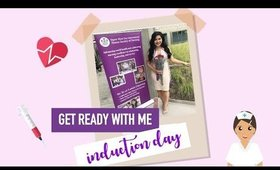 Get Ready With Me: Honor Society of Nursing Induction Day 2017 | makeupbyritz