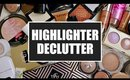 HIGHLIGHTER DECLUTTER 2017