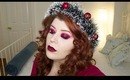 Ghost of Christmas Present Inspired Makeup Tutorial