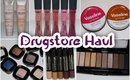 NEW AT THE DRUGSTORE HAUL:  JAN 2016