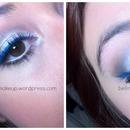 Cat eye (blue)