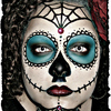Sugar Skull ♥ {Halloween makeup}