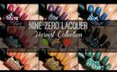 Nine Zero Lacquer Harvest Collection | Swatches & Review!