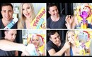 Cream To The Face ♡ Pie Face Challenge w/ MooshMooshVlogs!