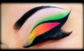 Neon Make Up Tutorial