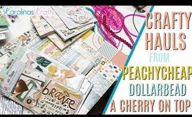Crafty Haul from Peachy Cheap Haul, A Cherry On Top, and NEW cheap GLASS BEADS