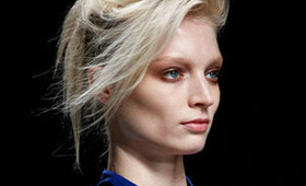 Haider Ackermann Makeup, Paris Fashion Week S/S 2012