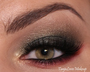 EOTD using Sleek's Me, Myself & Eye palette