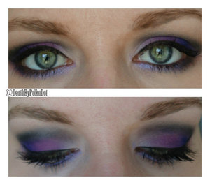 http://deathbypolkadot.com/purple-ombre-makeup/
