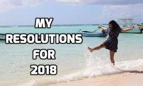 Snig Talks : My Realistic Resolutions/Goals For 2018    Snigdha Reddy