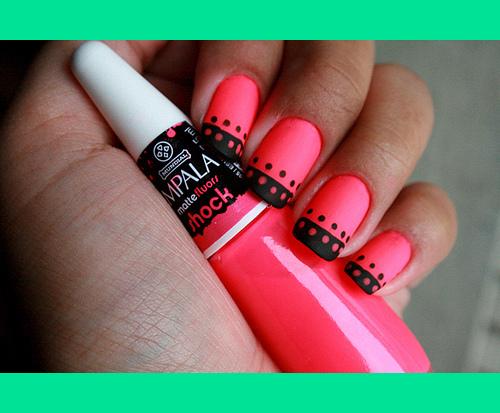 Hot Pink Nails | Shelby H.\'s Photo | Beautylish