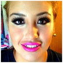 Bold eyes bold lips! Why not?