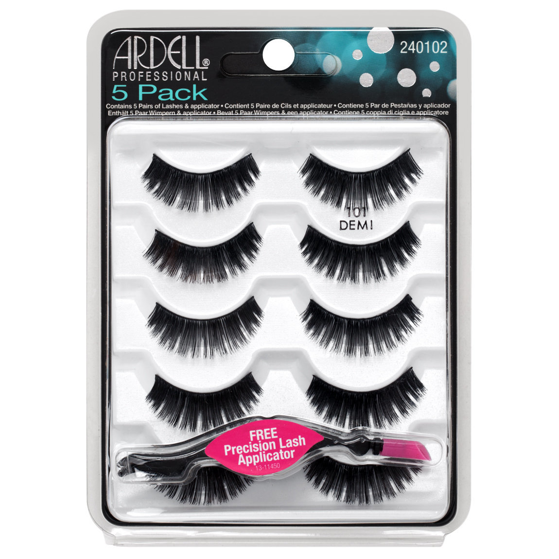 Ardell 5 Pack Natural 101 Black