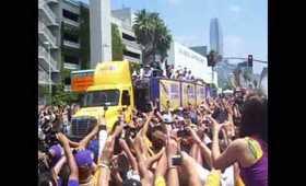 laker parade 2010