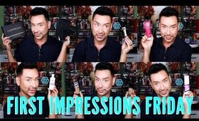 Trying New Products For The New Year Grwm First Impressions | mathias4makeup