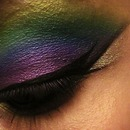 Rainbow make up