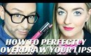 HOW TO OVERDRAW YOUR LIPLINER CORRECTLY TO CREATE FULLER LIPS STEP BY STEP- mathias4makeup