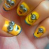 Despicable Me Nails- Minions!!