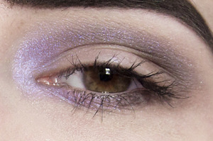 Eyes Urban Decay Primer Potion Coastal Scents Hot Pots in Brownstone and Chamois Nude MAC Extra Dimension eyeshadow in Blue Orbit Givenchy Eye Fly Mascara in Black  More info here: http://bit.ly/13URGp4