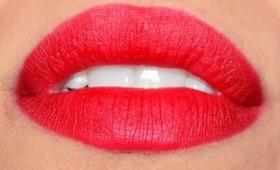 Classy yet sexy : My go to matte retro red lips