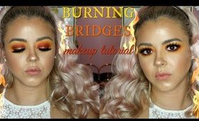 BURNING BRIDGES makeup tutorial | Beauty by Pinky