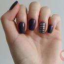 Metallic Striping Tape Nails