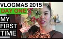 VLOGMAS: DAY 1 ❆ MY FIRST TIME | yummiebitez