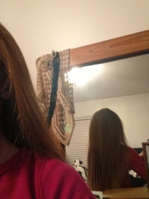 I just did my hair