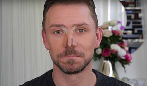 How to contour a triangular nose