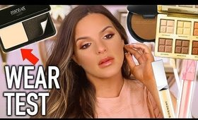 THE BEST NEW POWDER FOUNDATION ON THE MARKET? NEW PRODUCTS TESTED!  | Casey Holmes