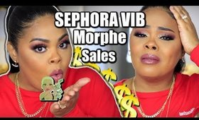 I HAD TO CLICK THE EMAIL?? SEPHORA VIB SALE , MORPHE, JEFFREE STAR & MORE HAUL 2020