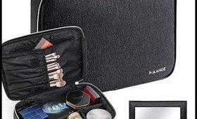 MAANGE Makeup Bag Travel Train Cosmetic Case Organizer
