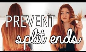 HOW TO PREVENT SPLIT ENDS!? THE HAIR MINUTE | CarolaneCP