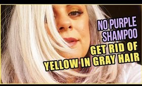 Get Rid of Yellowing of Gray Hair | Maryam Remias