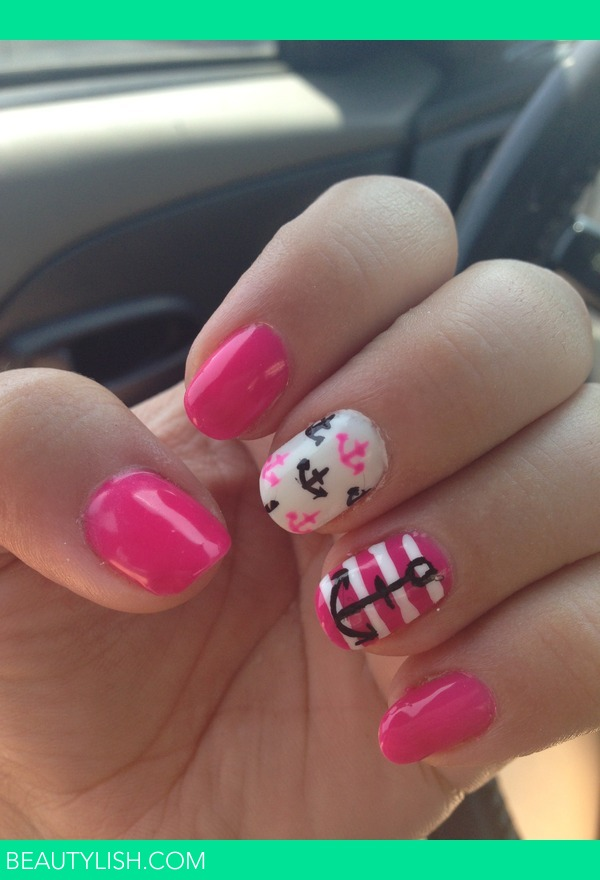 Pink Anchor Nails Tina P S Photo Beautylish