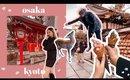 Osaka Kyoto Nara 5 day Travel Itinerary 🌟 Food, Shopping in Japan