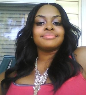 Sew-in straight Virgin Remi hair....I curled my hair with a flat iron then used a wide tooth comb!!!