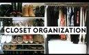 DIY CLOSET ORGANIZATION | Moving Vlog