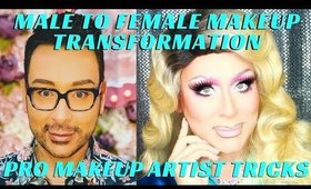 The Art Of Drag Makeup Step By Step Transformation | Amazing Drag Makeup Tutorials | mathias4makeup