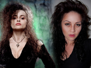 Bellatrix Lestrange Inspired Makeup