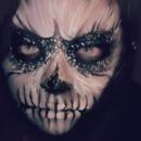 Skull Makeup - Close Up
