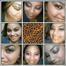 """Cheetah print Design."" with Apricot nude lips."