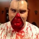 zipper face I did on my cousin.