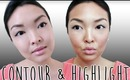 HOW TO: Contour and Highlight Your Face (Nose, Cheekbones and Eyes)