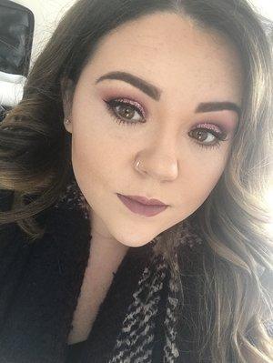Work makeup today