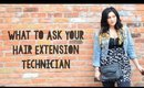 What to Ask Your Hair Extension Technician - First Time Buying Hair Extensions | Instant Beauty ♡
