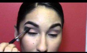 Easy Simple Peach Makeup