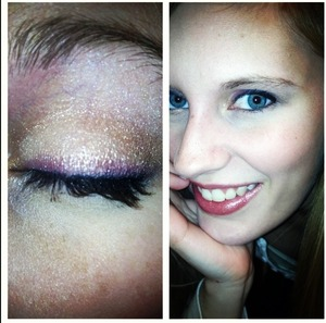 Sephora eye shadow (sorry I don't know the names of my eye shadows they are in a giant fold out box from sephora!)