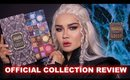 URBAN DECAY GAME OF THRONES MAKEUP COLLECTION REVEW + LOOK | MaryamNYC