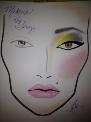 Designed by makeup by Tonya